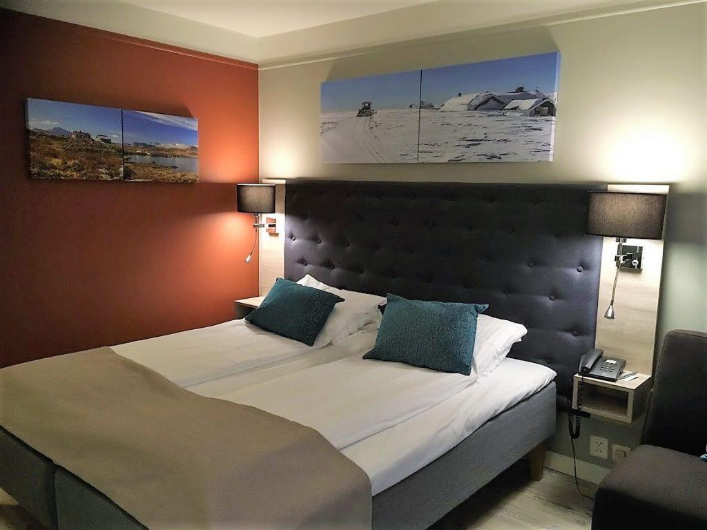 Bo på hotell på Beitostølen - soverommet vi bodde på