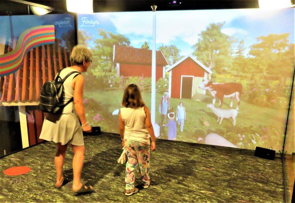 Opplev Filmbyn i Småland med Astrid Lindgrens verden. Interaktivt miljø hvor vi er med i kulissene