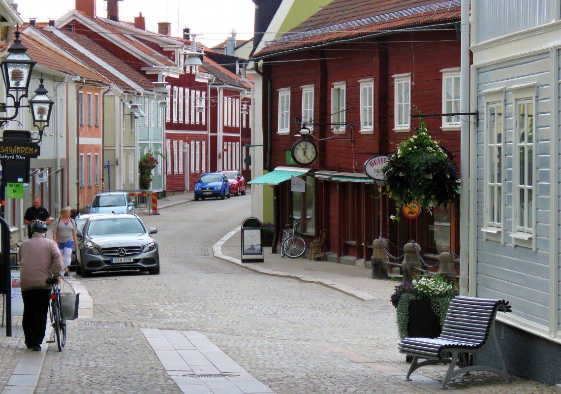 Opplev den gamle og unike trebyen Eksjö - Den pittoreske Hovedgaten i Eksjö
