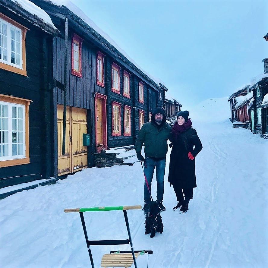 Reisen til Røris - en juledrøm blir virkelig - Ved Pippis kulisser