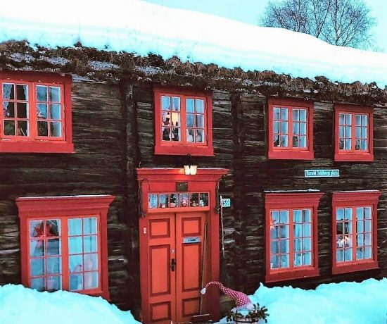 Reisen til Røros - en juledrøm blir virkelig - I snødrev, akkurat sånn en hvit jul skal være