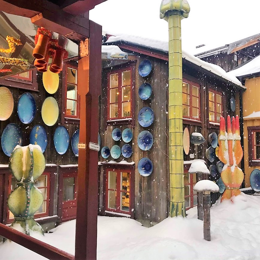 Reisen til Røros - en juledrøm blir virkelig - Kjeramikkverksted