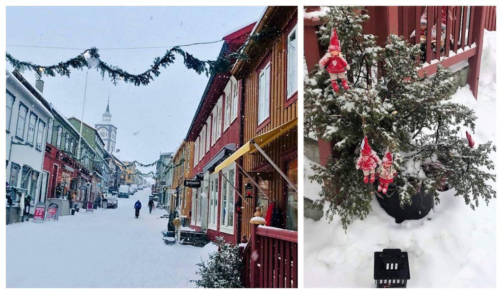 Reisen til Røros - en juledrøm blir virkelig - Kjerkgata