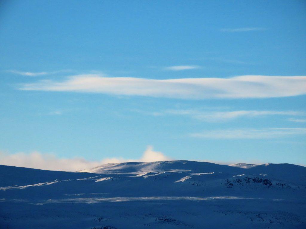 Supergli på felleski innover Garlislettene - Naturens eget fjellforråd