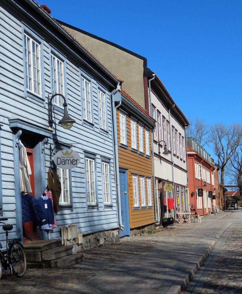 Den historiske perlen - Gamlebyen Hotell - Klesbutikken Kong Frederiks DAMER