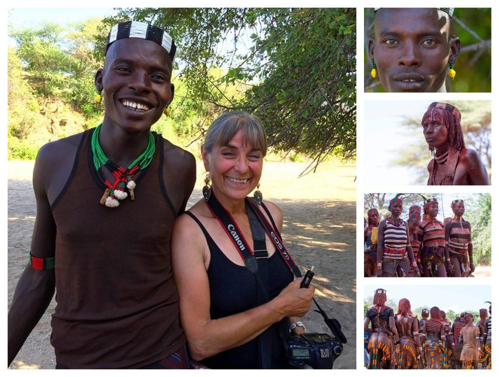 Rystende og tankevekkende besøk hos stammefolk i Etiopia - Heilu og Bente finner tonen!