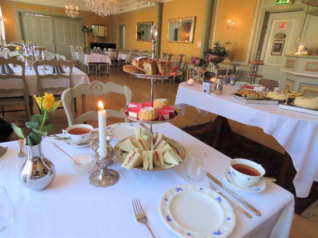 Gamlebyen Gjestgiveri – historisk og så utrolig levende - Afternoontea, spisesalen i Gjestgiveriet