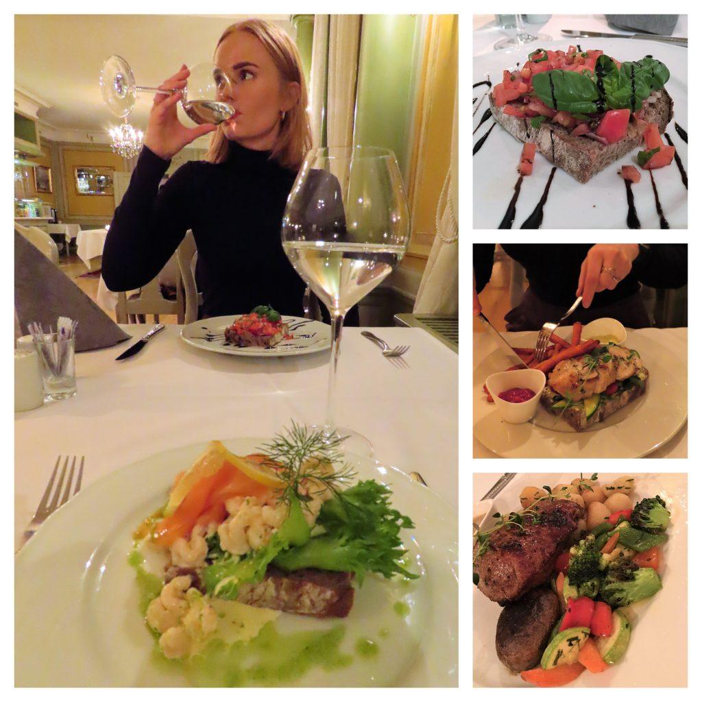 Gamlebyen Gjestgiveri – historisk og så utrolig levende - Treretters smakfull middag