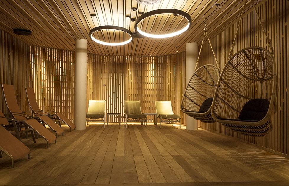 Støtvig Hotel i Hampton-stil og med utsikt mot evigheten - Spaavdelingen