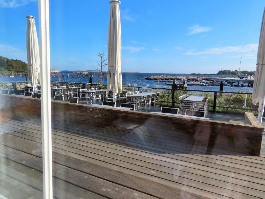 Støtvig Hotel i Hampton-stil og med utsikt mot evigheten - Utsikten fra restauranten