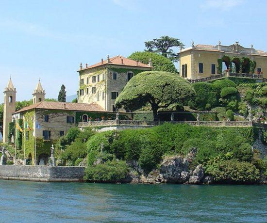På langtur til Nord-Italia med Hjalmar-bobil - Villa-Balbianello-Lenno-