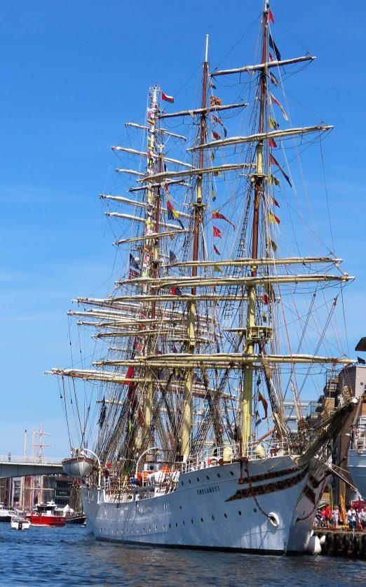 Sørlandet - en av de norske fullriggerne som deltar i Tall Ships Races IMG_2564 (2)