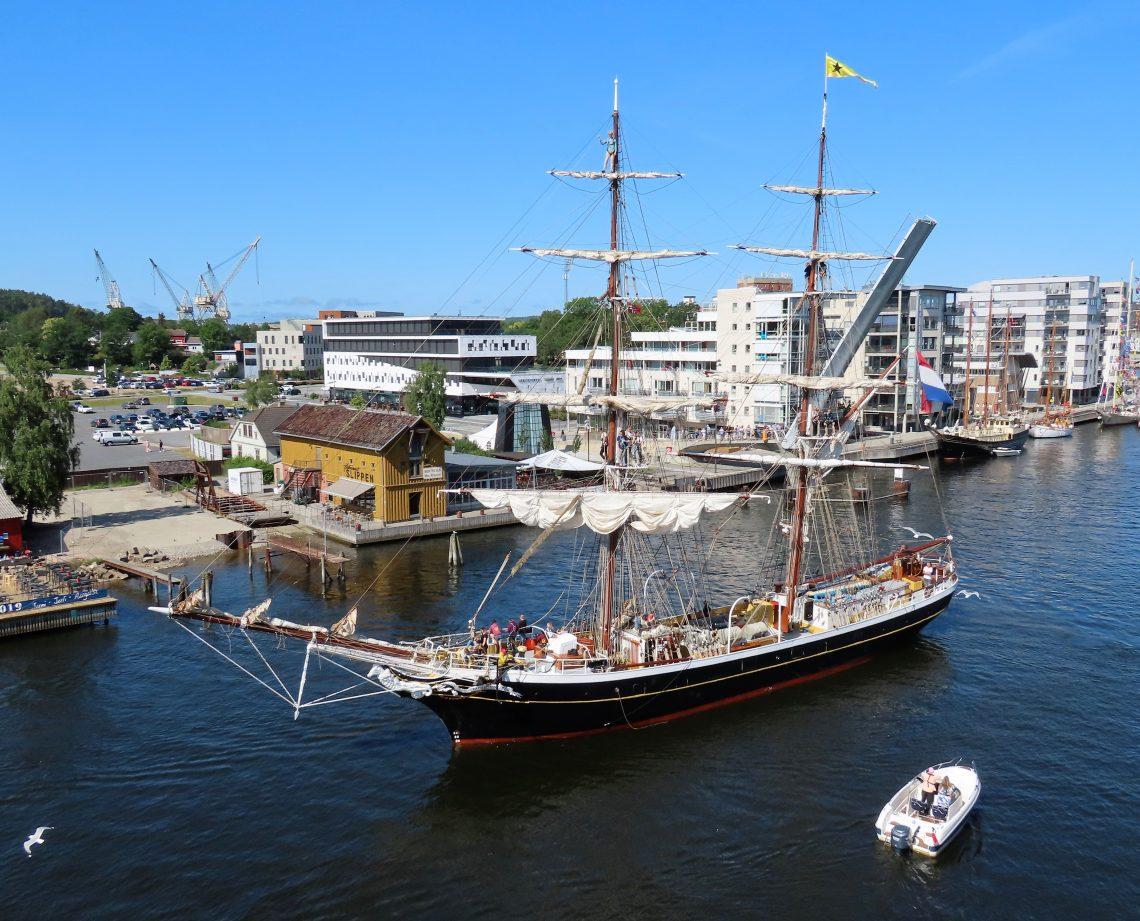 The Tall Ships Races i Fredrikstad - sett fra toppen av Litteraturhuset IMG_2520 (2)