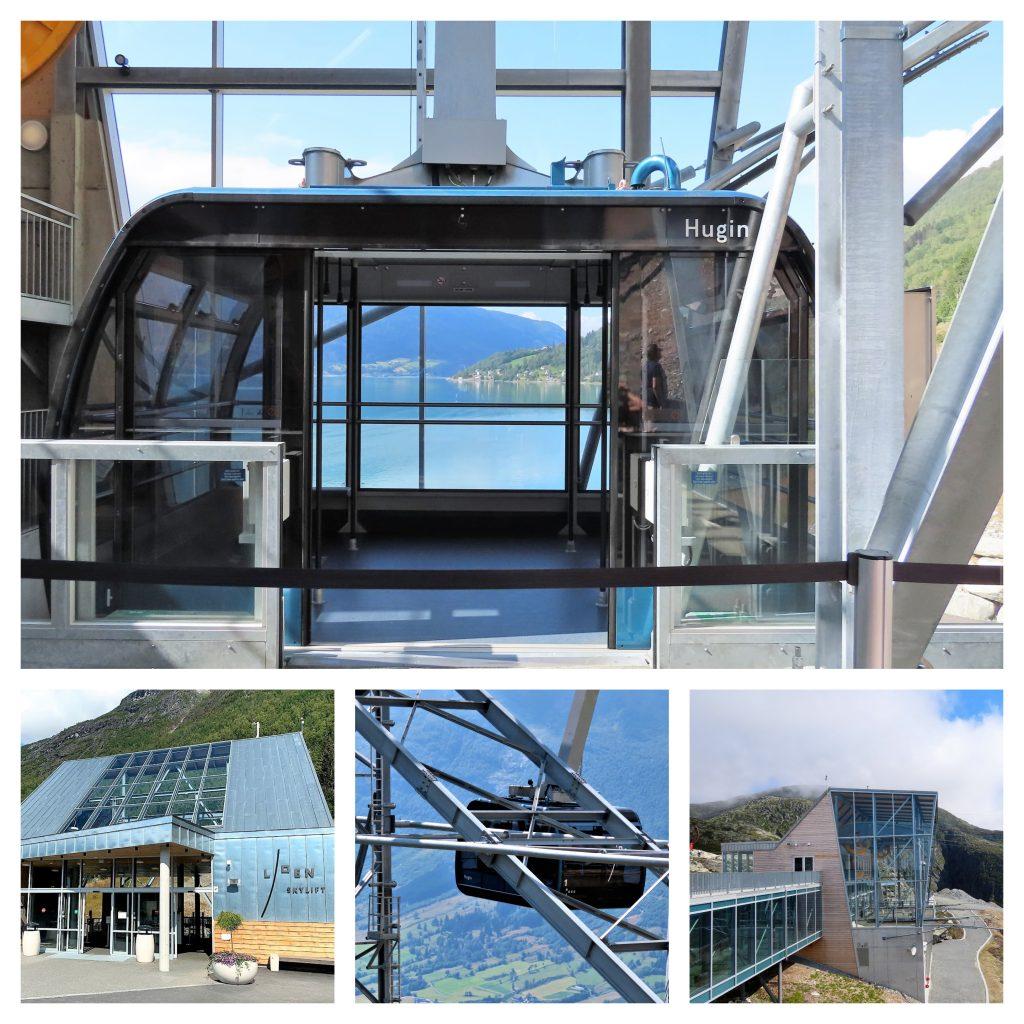 Loen Skylift - fra fjord til fjell på 5 minutter - velkommen ombord - kollasj