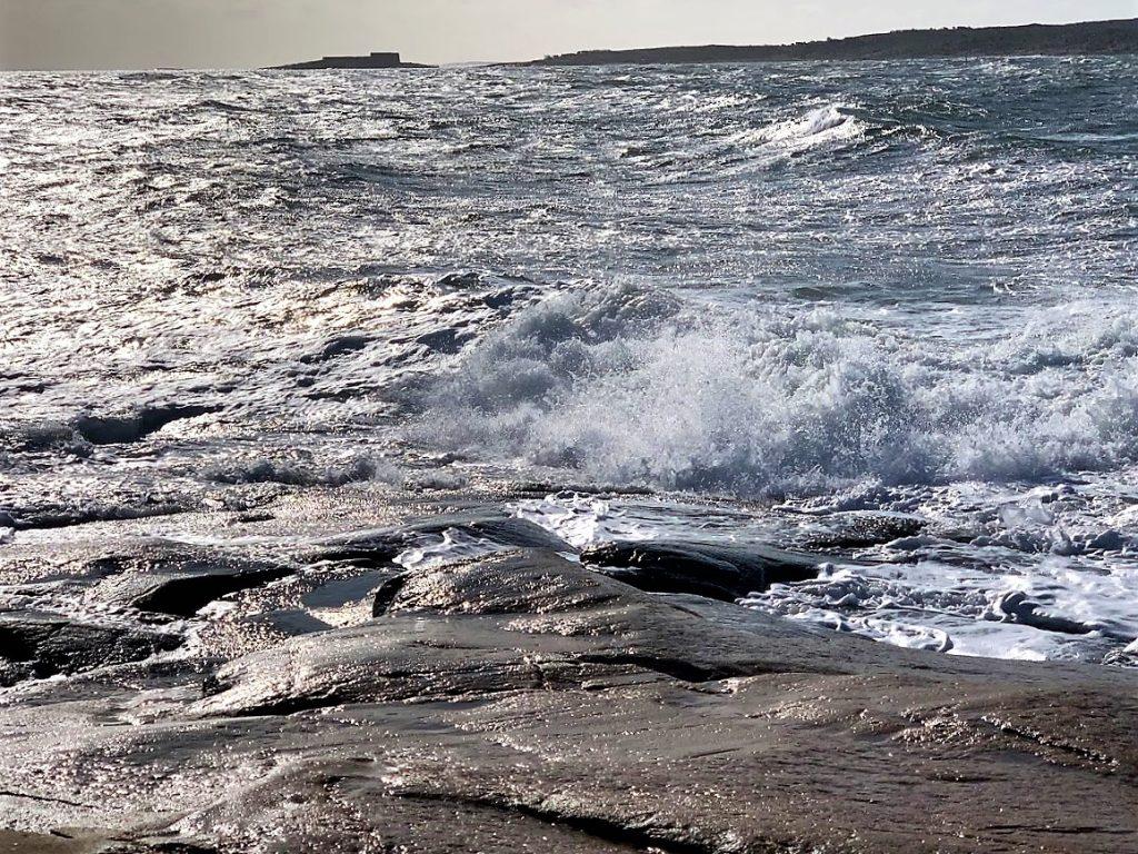 Det skummet godt av sjøen denne vindfulle dagen på Vesterøy, hvaler IMG_3659 (2)