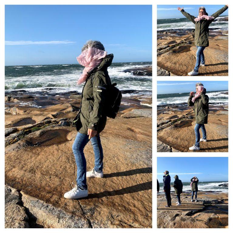 Med Vesterøy på Hvaler i ryggen, har du Amerika forut - Vinden røsket godt på tuppen av Amerika, Hvaler