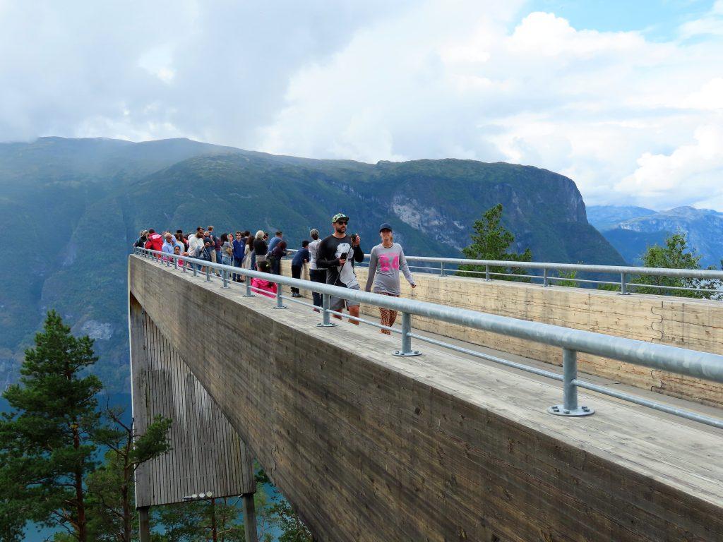Over Aurlandsfjellet - på en nasjonal turistvei - Stegastein IMG_3183 (2)