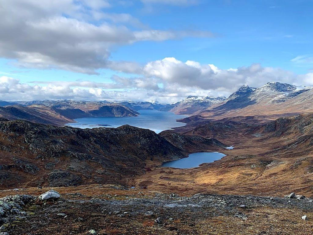 Utsikt fra Synshorn mot Fagerdalstjernet IMG_4023 (2)