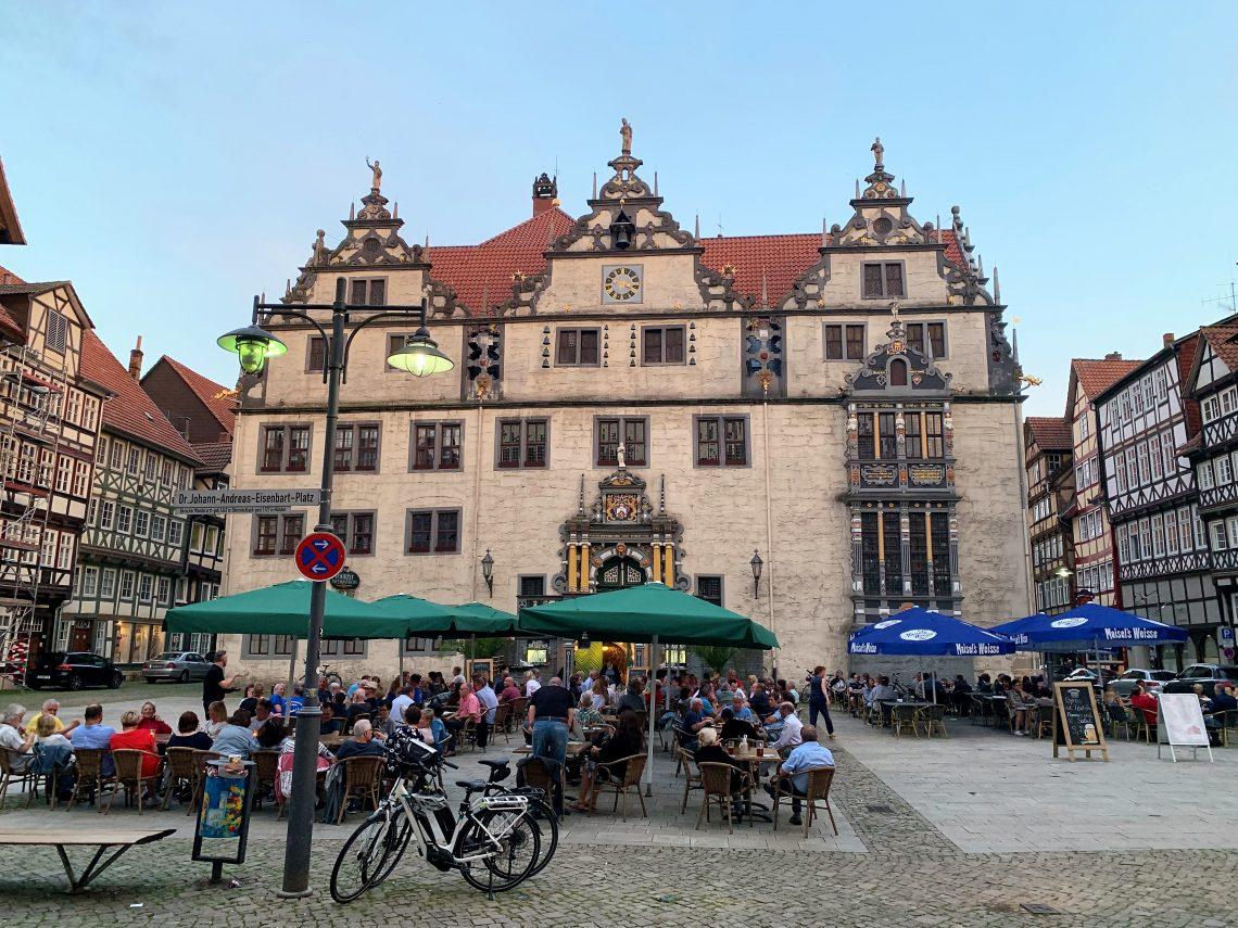 Hann Münden - bindinsverksbyen med historisk sus - Rådhuset IMG_0629 (2)
