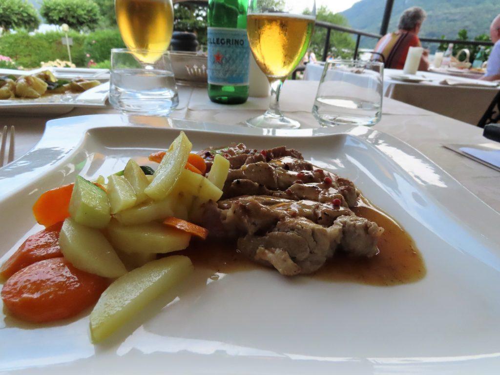 Middag på La Quertina i Mergozzo