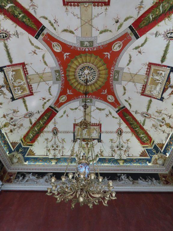 Takkunst i Villa Carlotta, Tremezzo