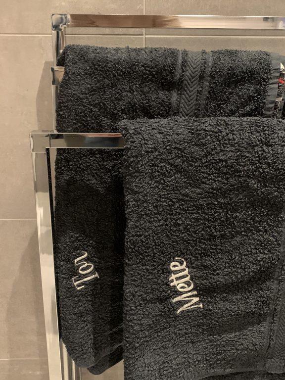 Detalj fra et bad, Riddertunet Beitostølen