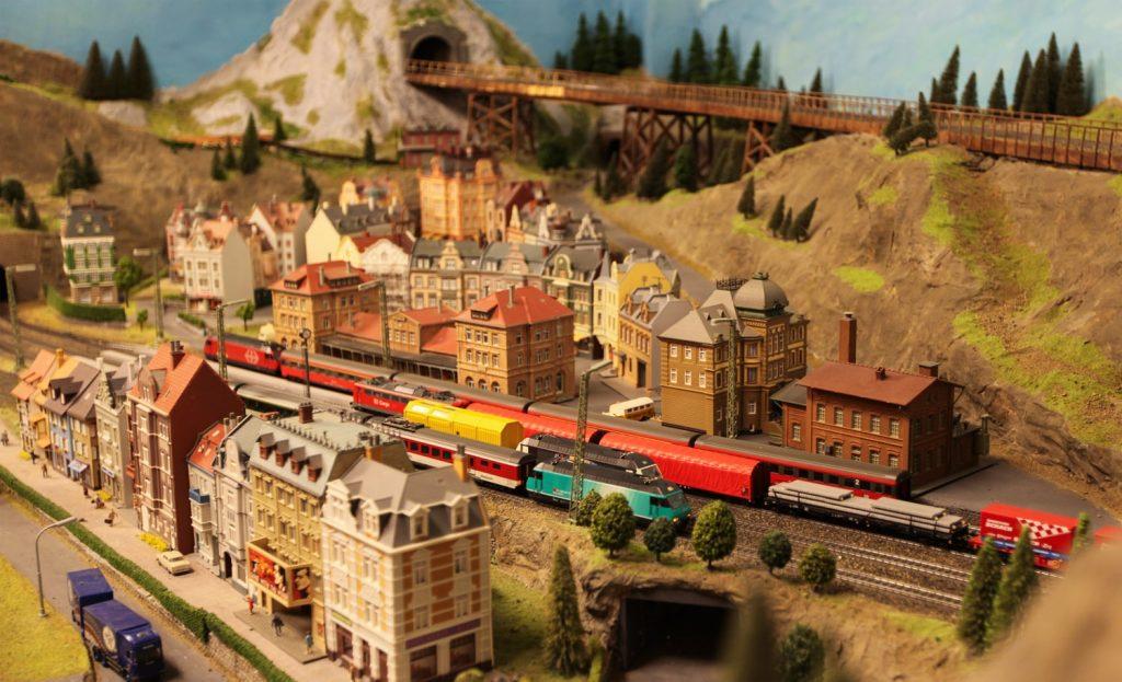Gamlebyen modelljernbanesenter - Foto: Vistifredrikstadhvaler