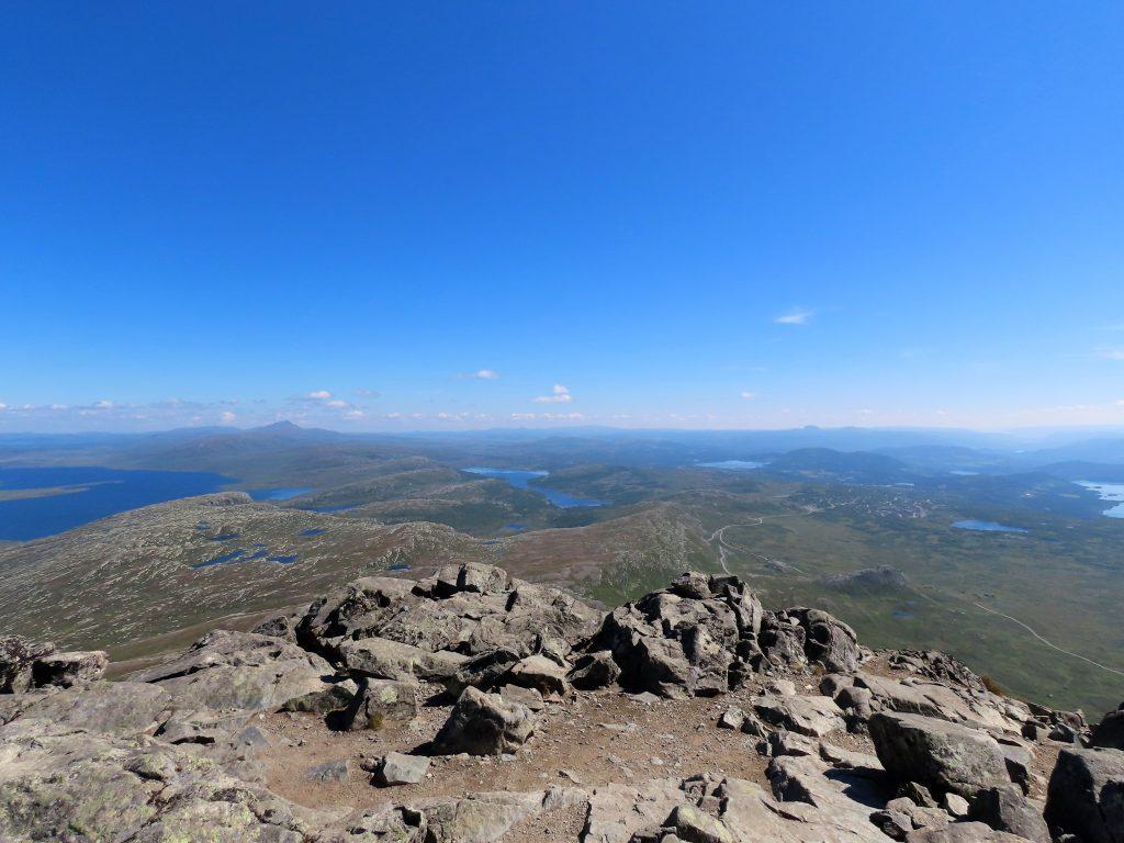 Bitihorn 1607 MOH – porten til Jotunheimen panoramautsikt i 360 grader