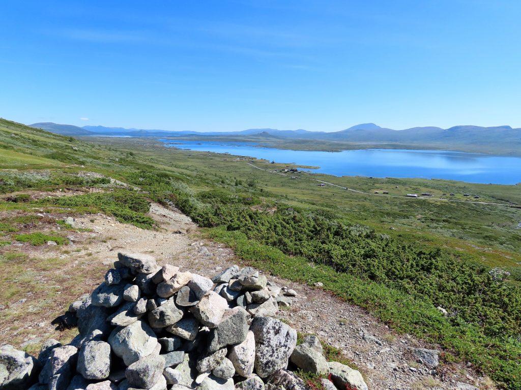 Vinstervatn byr på vakker natur og beitende dyr - Varden på første avsats