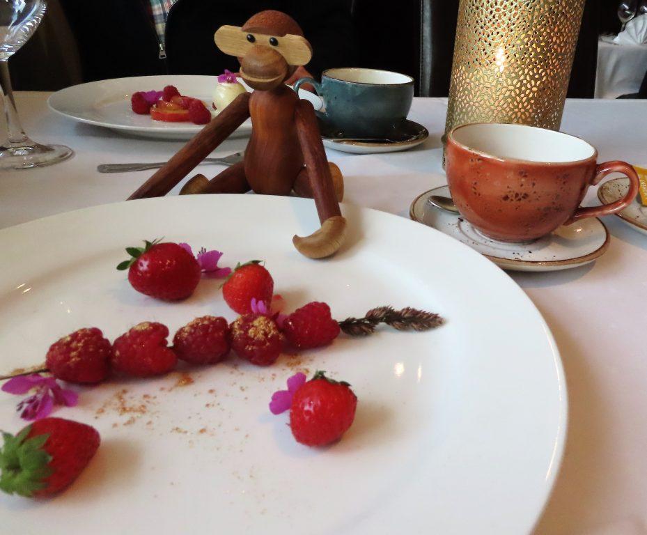 Dessert på heimatt - bær