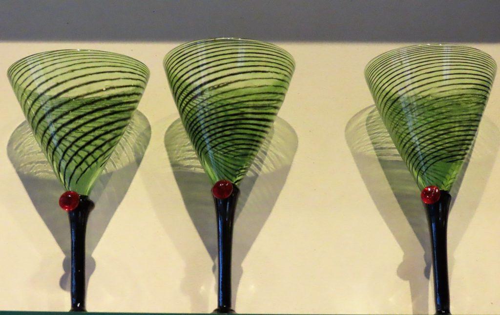 Håndlagde glass fra Glasshytta i Gamlebyen