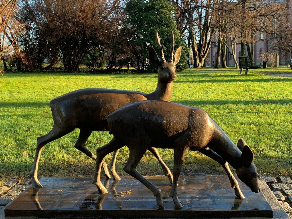 Rådyrene i Rådhusparken, Fredrikstad