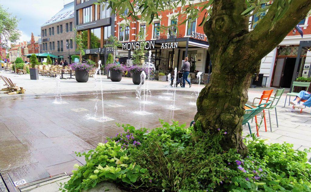Norgesferie, 9 attraksjoner i Kristiansands sommeridyll - torget i byen