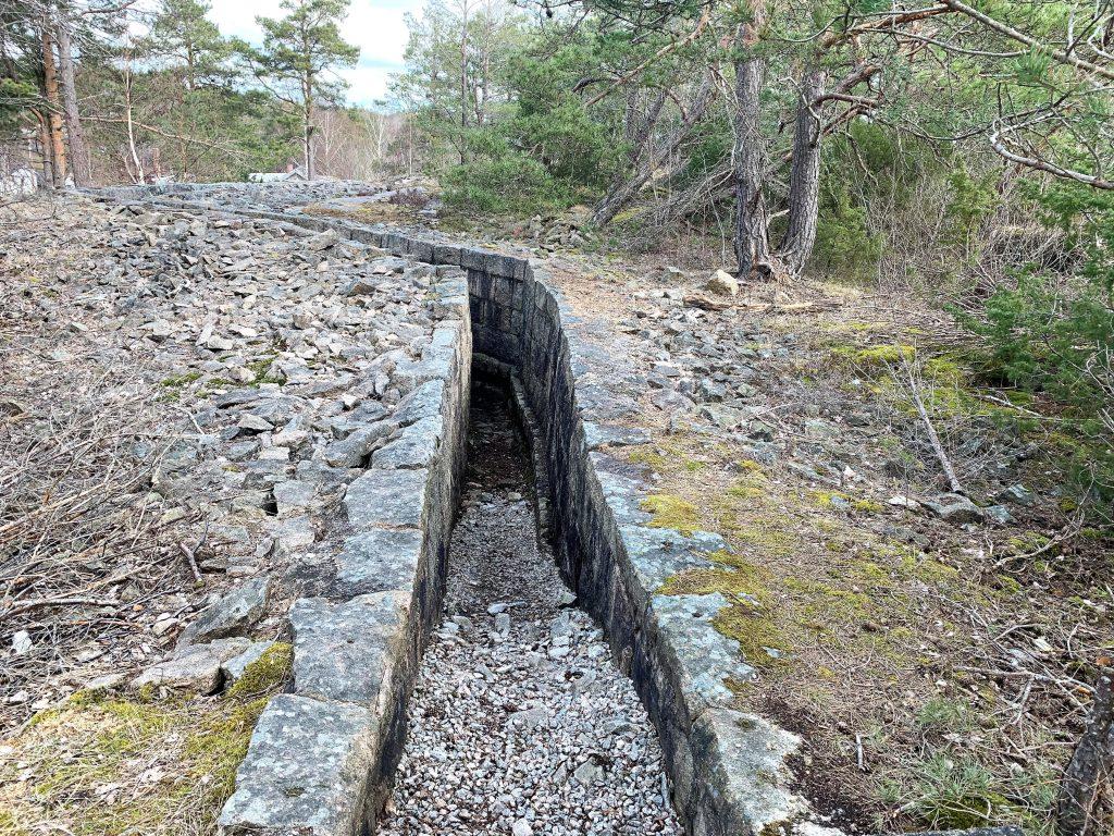 Tyskerne bygde fortet på Kjøkøy under andre verdenskrig